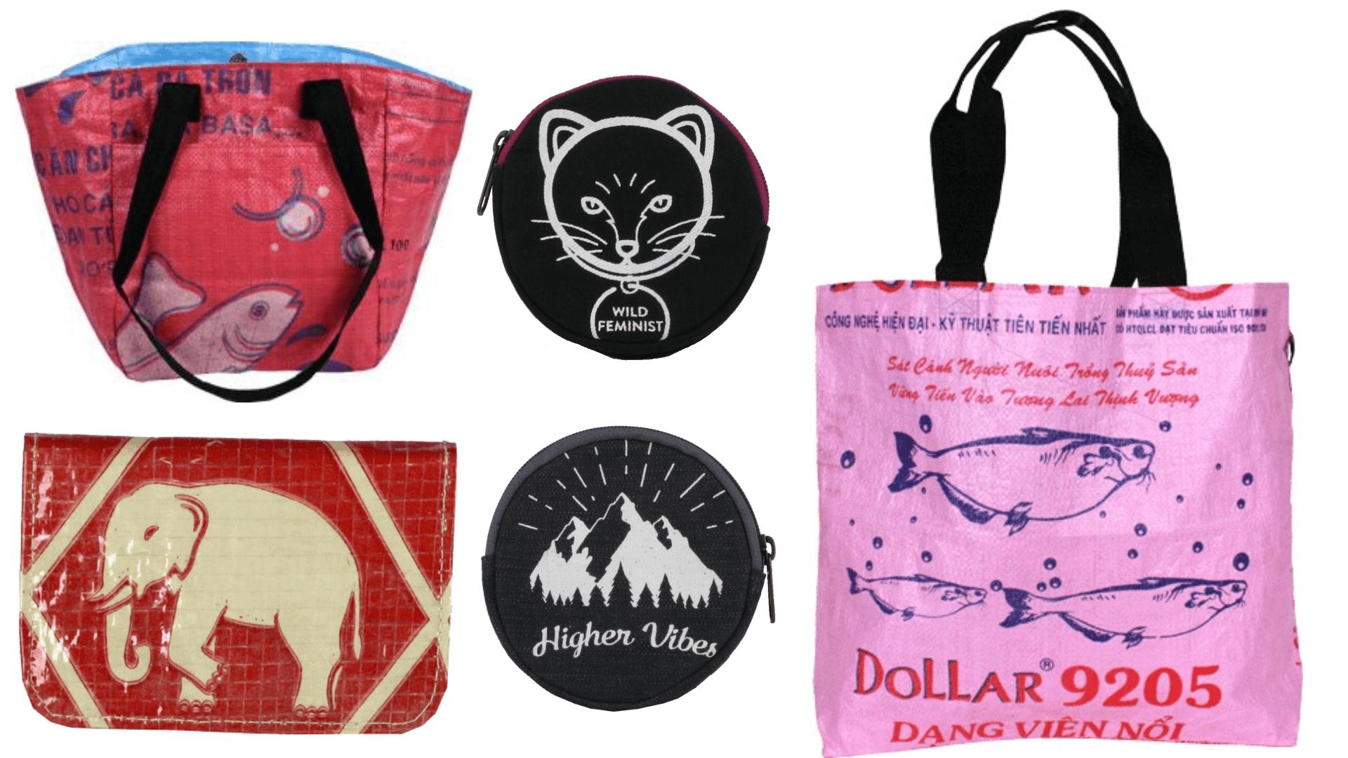 Malia Designs Fair Trade Wallets, Tote Bags, and Coin Purses
