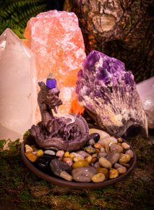 Benjamin dragon drop cone incense - new-min